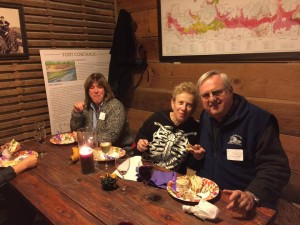 Bob, Rita & Cathy enjoying Southold Voice party